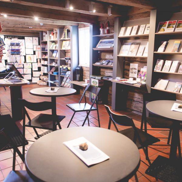 Kafe på infosenteret